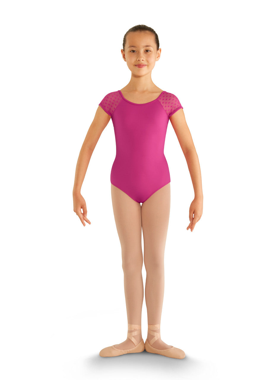 deb7617e0 CL8192 Children s Heart Mesh Cap Sleeve Leotard – BODIES IN MOTION ...