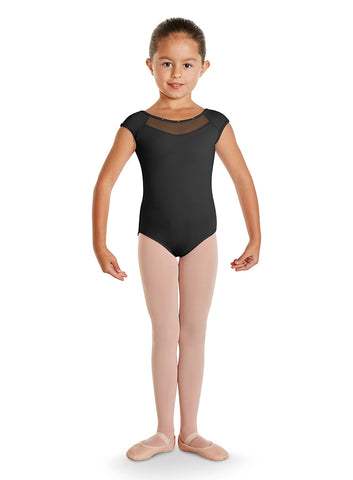 CL9822 GIRLS BOW BACK LEOTARD