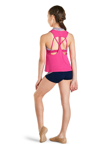 KA009T OPEN BACK GIRLS TANK