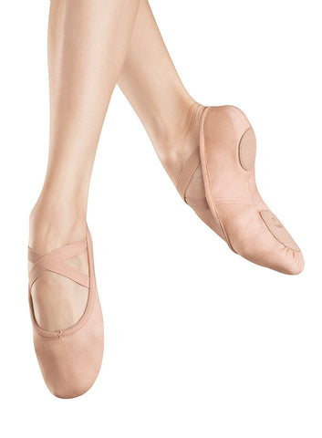 S0282G Zenith Stretch Canvas Child Ballet Shoe
