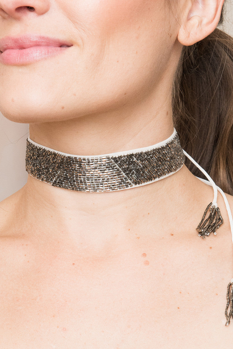 Bold Beaded Choker