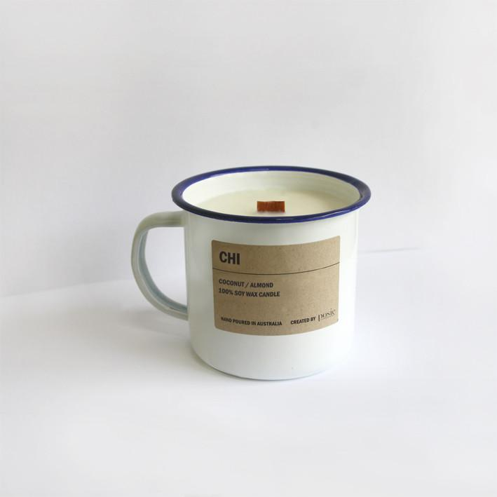 Soy Candle (Enamel) by POSIE
