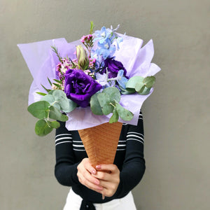 Flower Cone - Violet Blueberry
