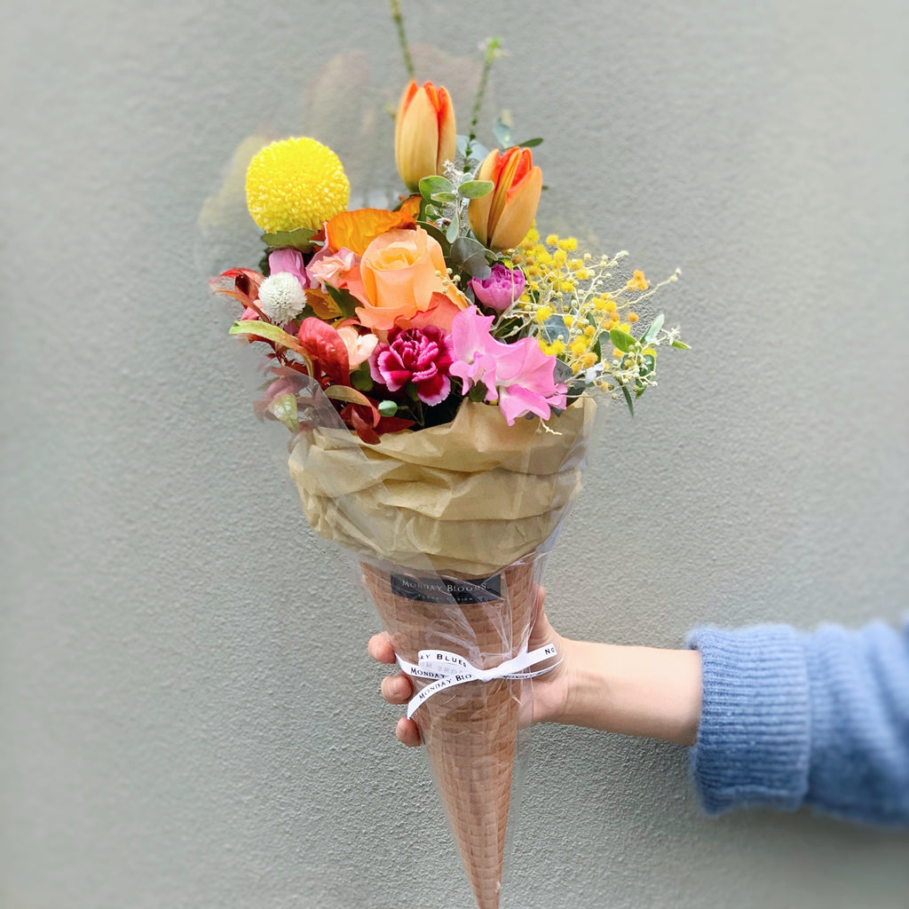 Flower cone – Playful Citrus