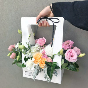 Blooms Hamper - White