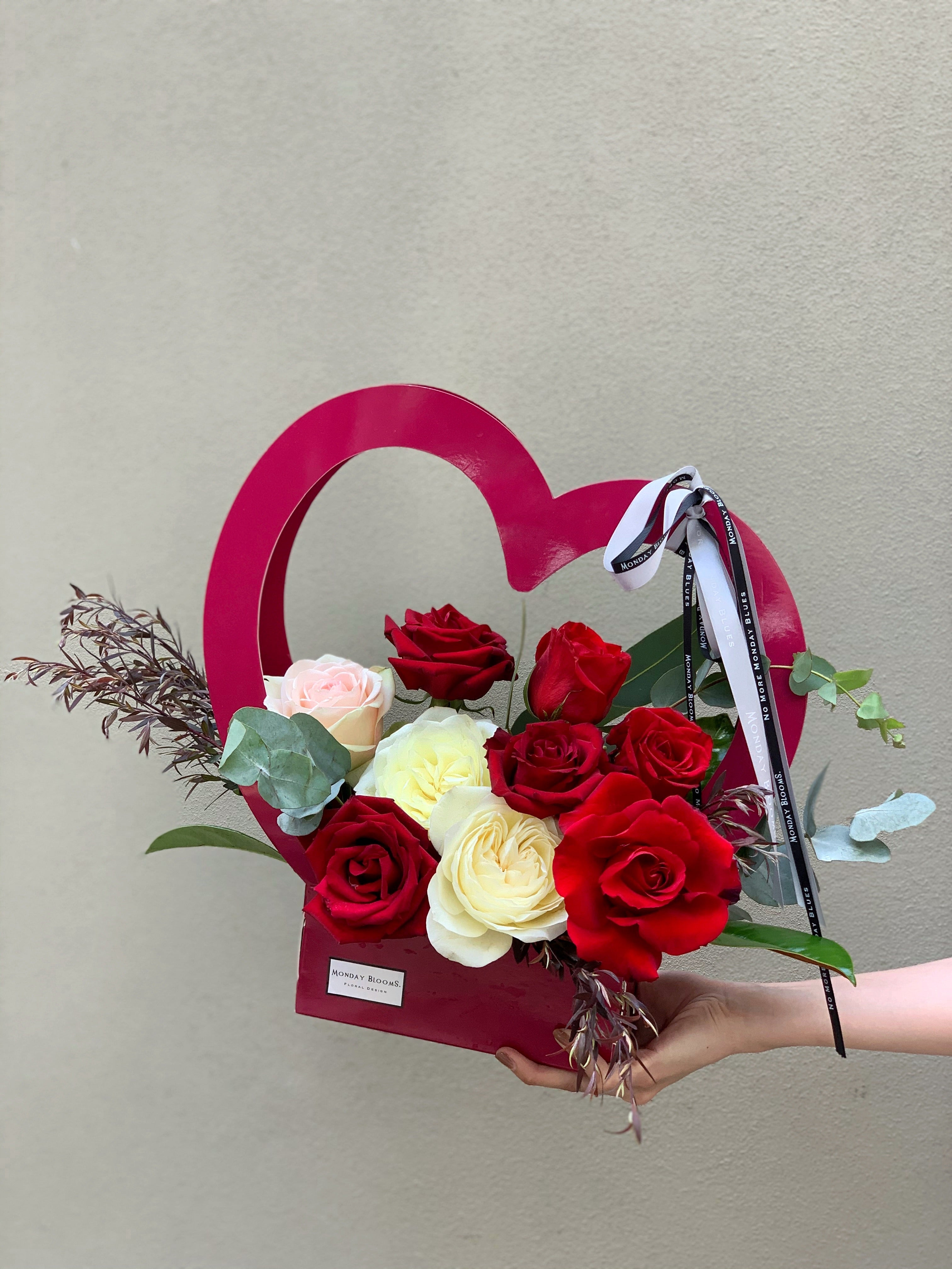 The Cupid Hamper - Red