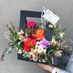 Blooms Hamper - Black
