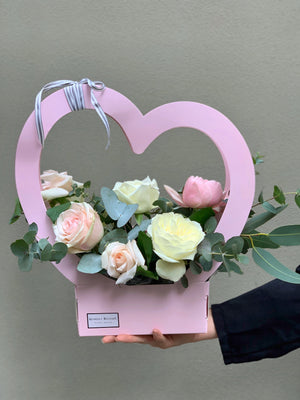 The Cupid Hamper - Pink