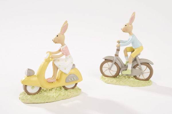 Bunny On Bike/Scooter