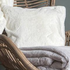 Arctic Hare Cushion - Cream - cibola