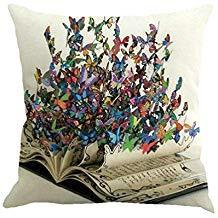 Butterfly Print Cushion Cover - cibola