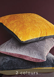 Velvet Cushion Cover - Spice