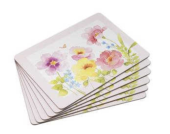 Watercolour Place Mats - Set of 6 - cibola