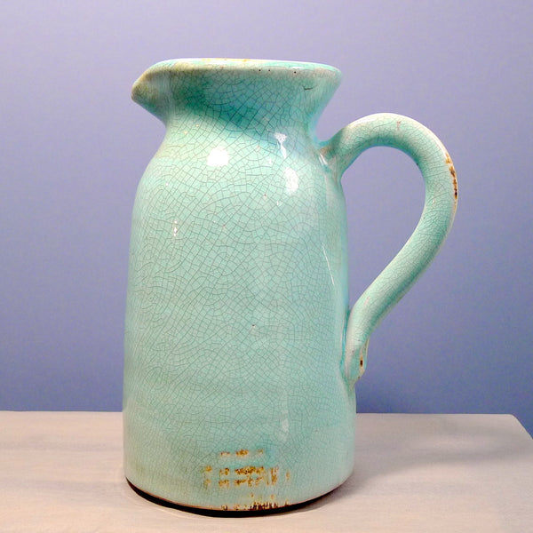 Stoneware Churn Pitcher - cibola