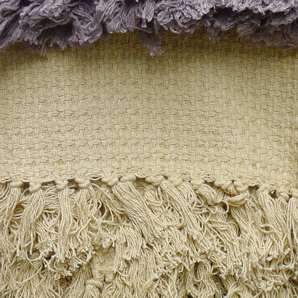Jacquard Throw with Tassels