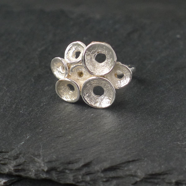 Mini Curved Disc Ring - cibola