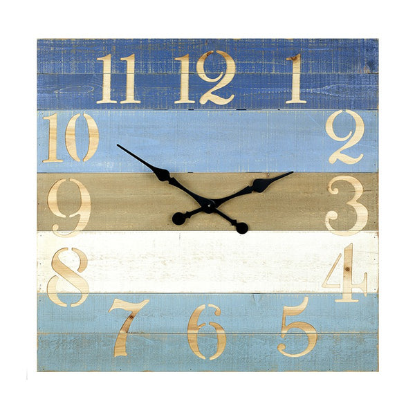 Blue Striped Clock - cibola