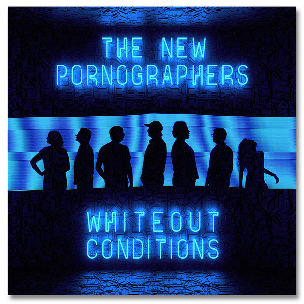 Official The New Pornographers Whiteout Conditions CD
