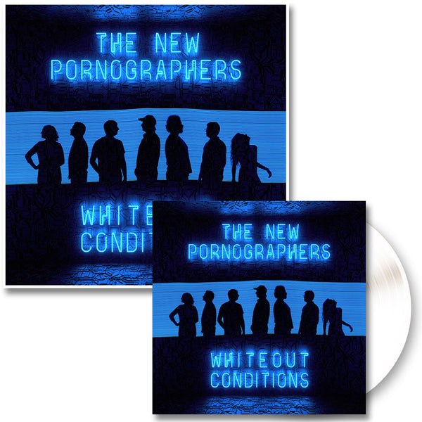 Whiteout Conditions LP (White) & Glow In The Dark Poster