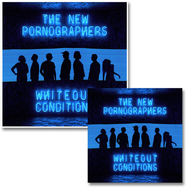 Official The New Pornographers Whiteout Conditions CD & Print