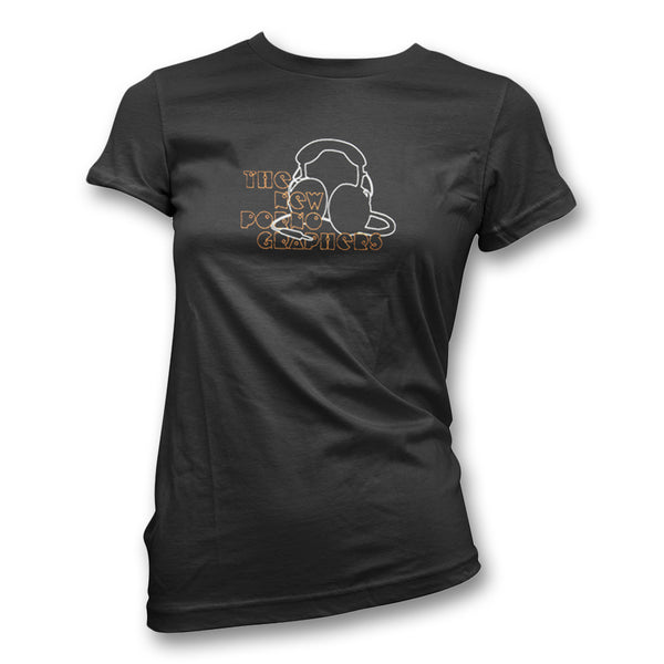 Headphones T-Shirt - Women's