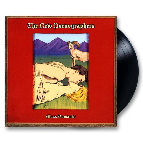 The New Pornographers Mass Romantic LP