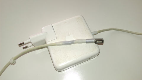 Apple cable repair white - After