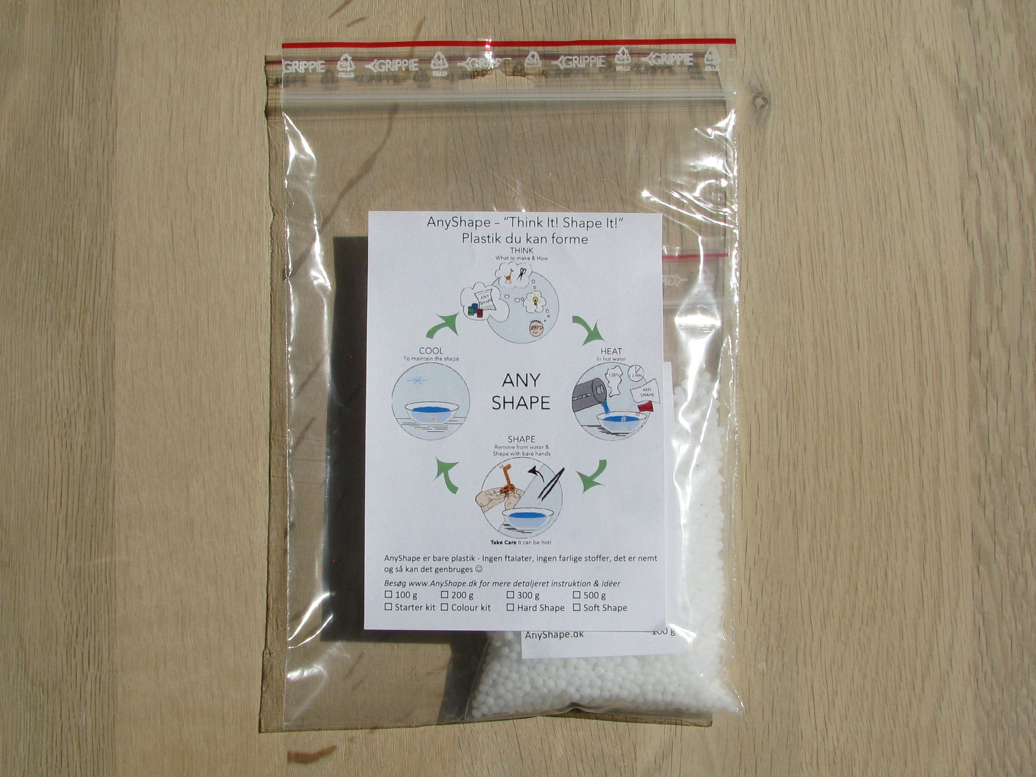 AnyShape 100 g package
