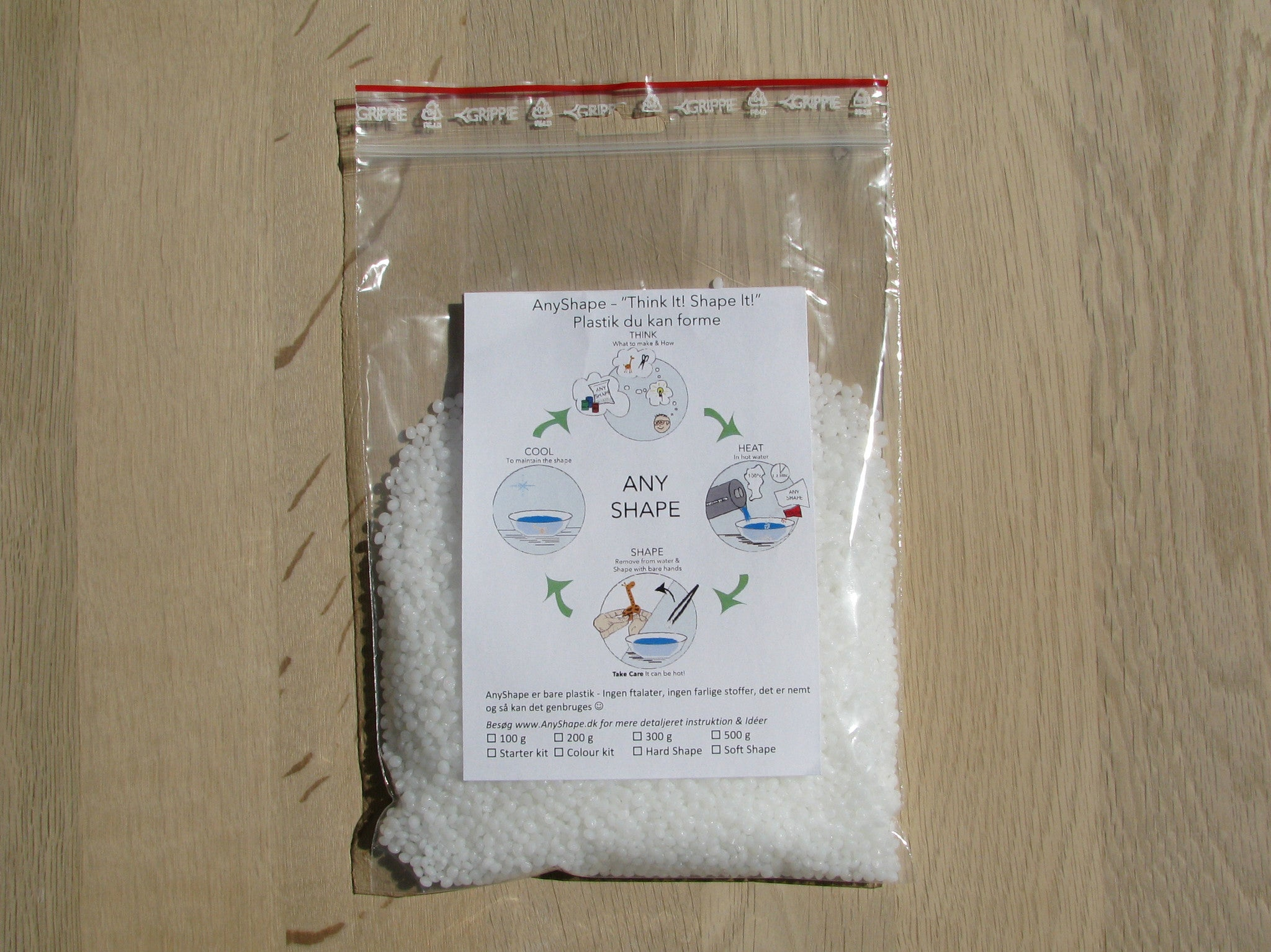 AnyShape 200 g bag