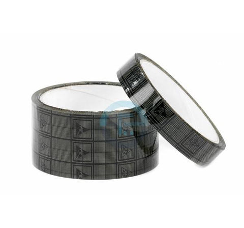 Adhesive tapes with conductive grid