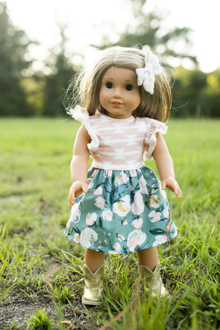 "**RELEASES ON SUNDAY 8/19 @8 p CST** Doll Match for ""Everlasting Blooms"""