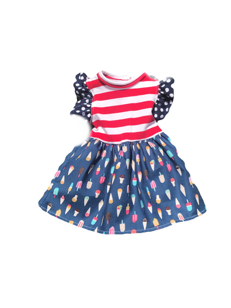 Sweet Liberty DOLL dress