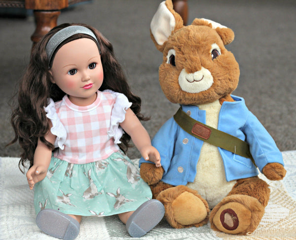 **Pre-order ** Peter Rabbit Doll match