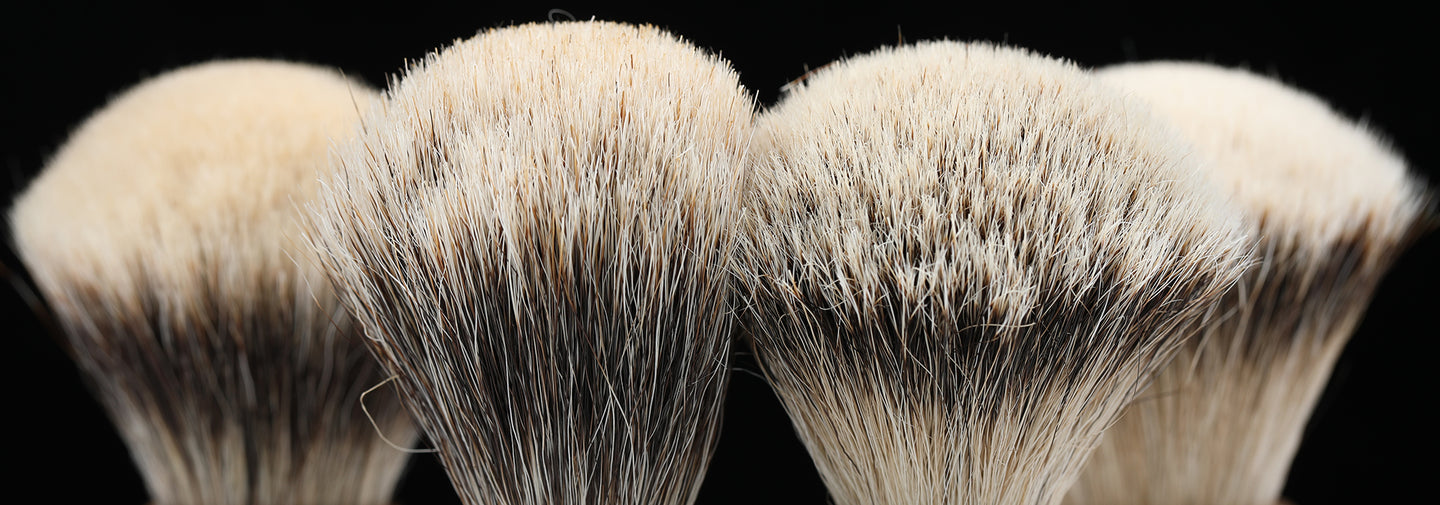 Silvertip & SuperFine Badger Brushes