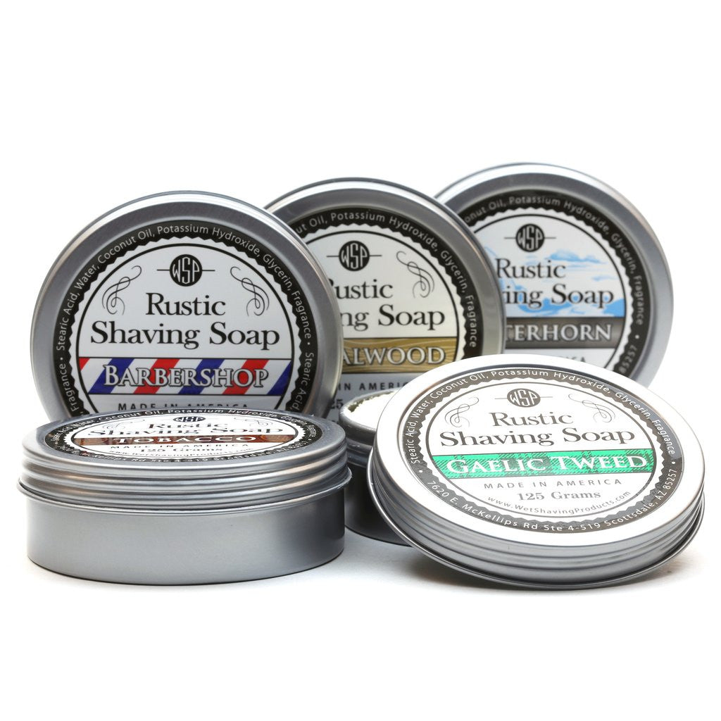 Rustic Shaving Soap