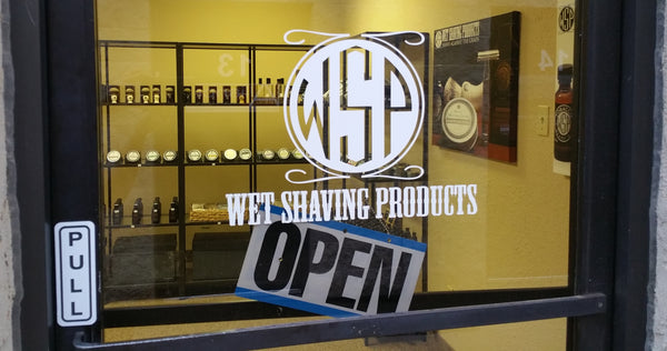Wet Shaving Products Showroom