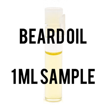 1 ml Sample of Beard & Mustache Oil