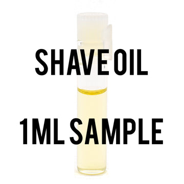 1 ml Sample Pre & Post Shave Oil