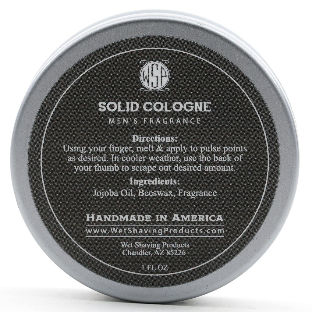 Solid Cologne Gaelic Tweed 1 oz in tin