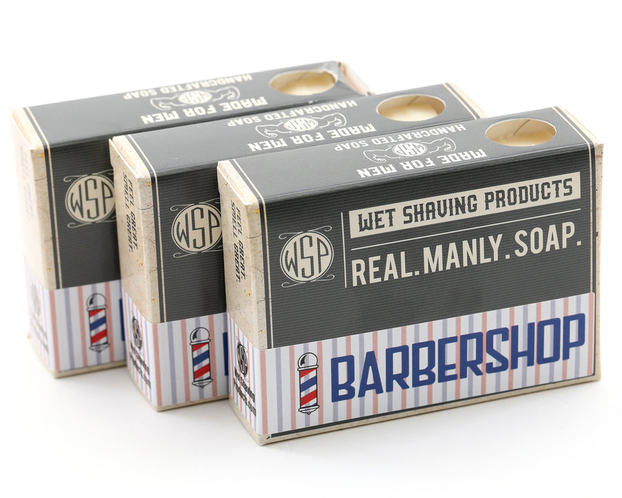 3 Pack of Real. Manly. Soap. (4.5 oz Castile Bars)