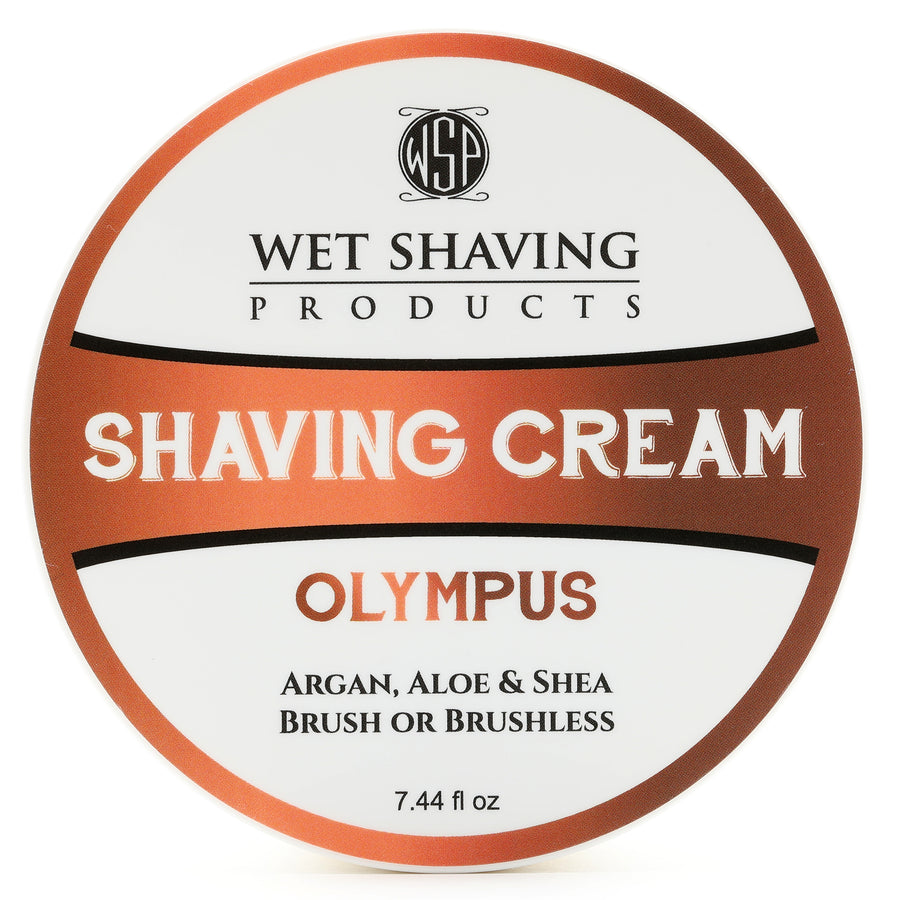 Shaving Cream 7.44 oz (Olympus) Featuring Argan & Aloe