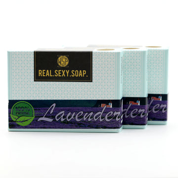 3 Pack of Real. Sexy. Soap. Castile Bar 4.5 oz (Vegan & Natural)