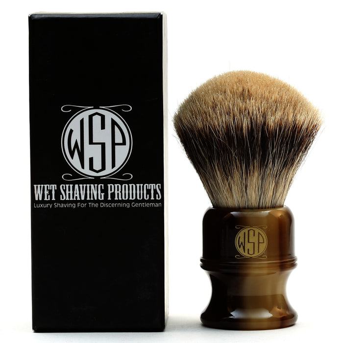 "WSP ""Stubby"" Extra Dense Best Badger Shaving Brush (Large 26mm)"