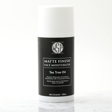 Face Moisturizer for Men - Mattifying Lotion (with Tea Tree Oil for Problem Skin)