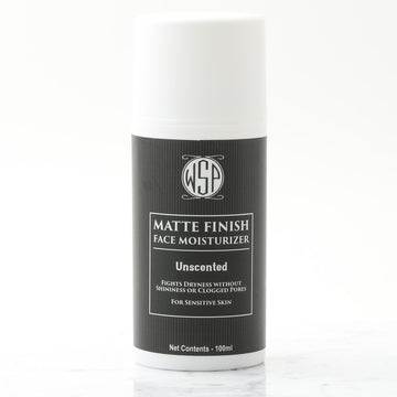 Face Moisturizer for Men - Mattifying Lotion (Unscented & Fragrance-Free for Sensitive Skin)