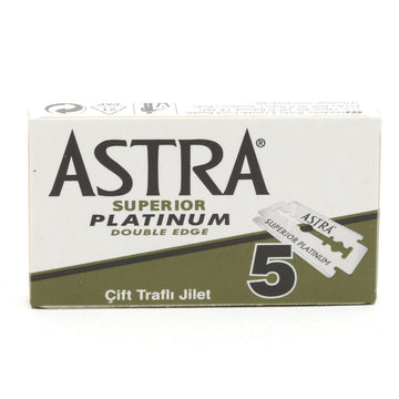 Astra Superior Platinum (Green) Double Edge (DE) Blades
