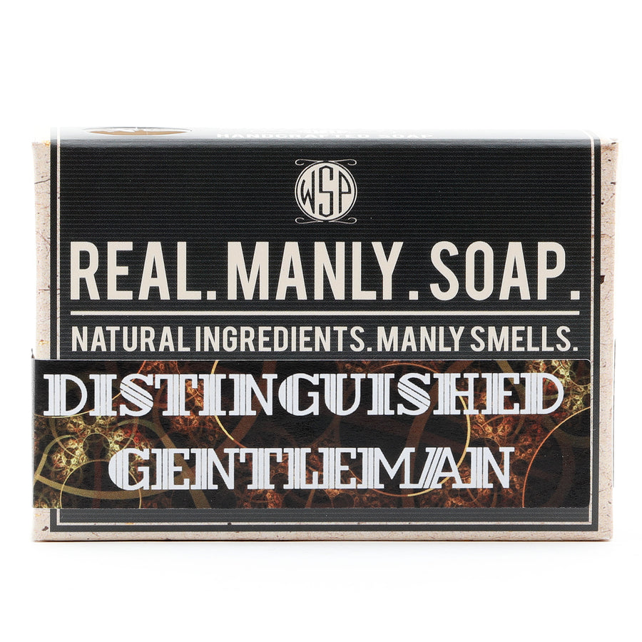 Limited Edition - Distinguished Gentleman - Castile Hand & Body Soap Bar 4.5 oz Vegan Natural Ingredients