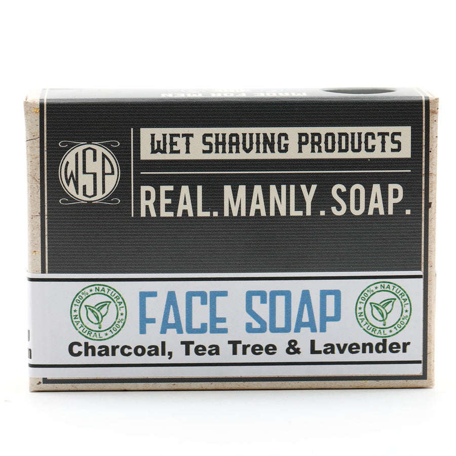 Castile Face Soap Bar - Formulated for Dry or Problem Skin - 4.5 oz Vegan & All Natural