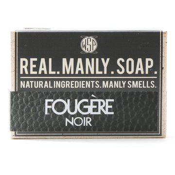 Limited Edition - Fougere Noir - Castile Hand & Body Soap Bar 4.5 oz Vegan Natural Ingredients
