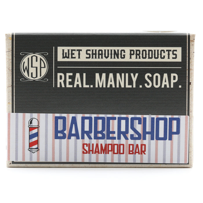 Shampoo & Beard Wash Bar 4.5 oz 100% Vegan & Natural (Barbershop)